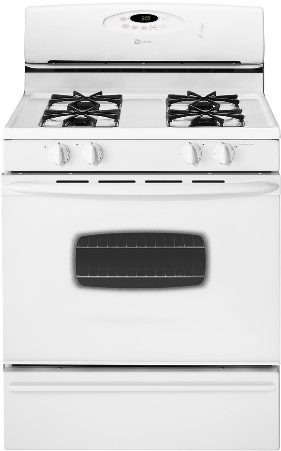 maytag mgr4451bdw 30 inch freestanding gas range with 4 sealed burners 12 000 btu power boost. Black Bedroom Furniture Sets. Home Design Ideas