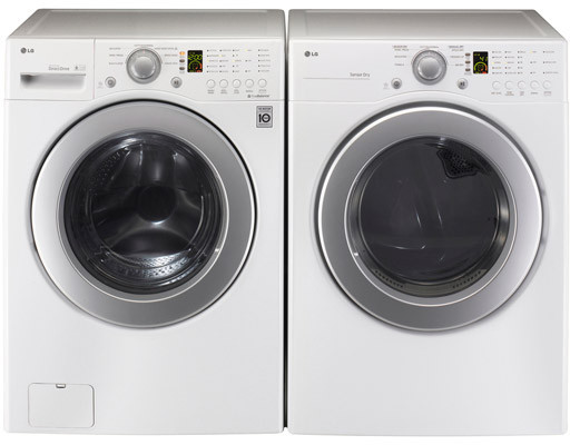 Lg Wm2240cw 27 Inch Front Load Washer With 3 7 Cu Ft