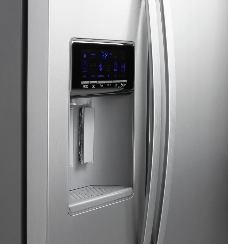 Whirlpool Wrs576fidm 36 Inch Side By Side Refrigerator