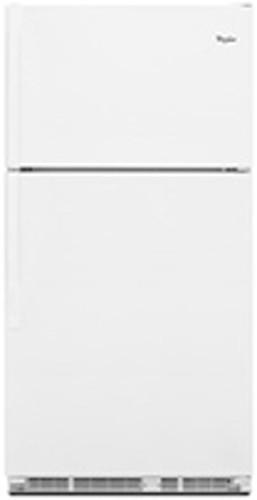 Whirlpool Wrt1l1tzyw 21 Cu Ft Top Freezer Refrigerator