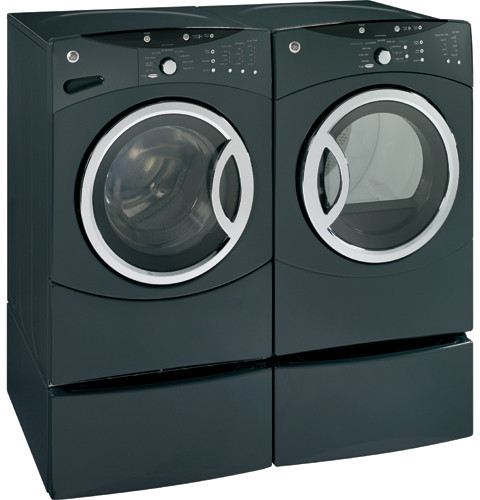 Ge Wcvh6600hgg 27 Inch Front Load Washer With 3 8 Iec Cu