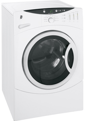 Ge Wbvh6240fww 27 Inch Front Load Washer With 3 7 Cu Ft