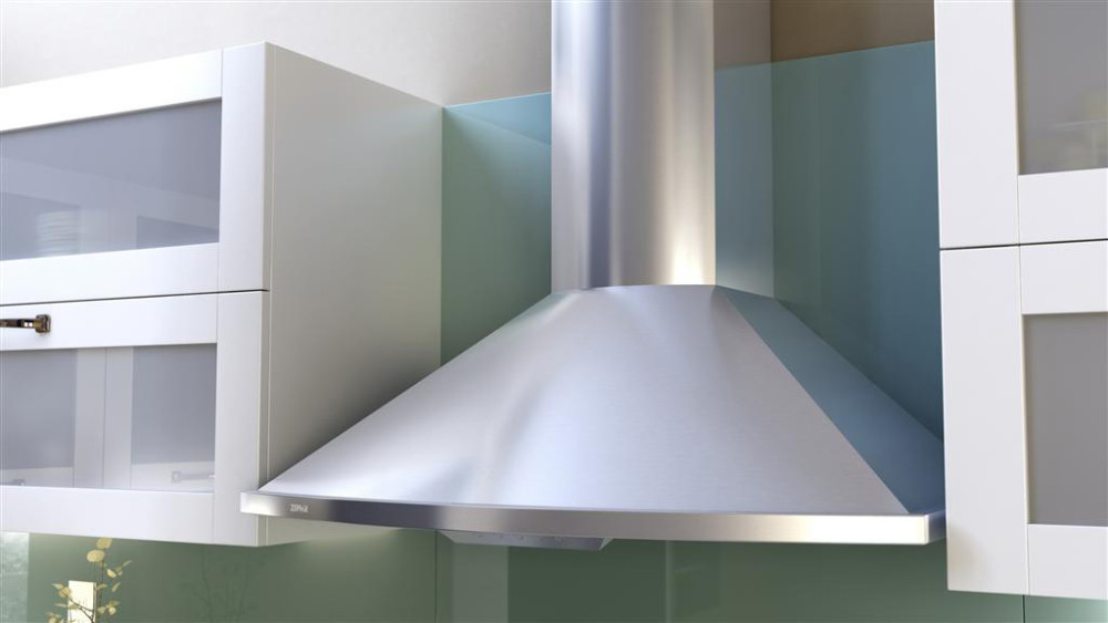 Zephyr Zsam90bs 36 Inch Wall Mount Chimney Hood With 685