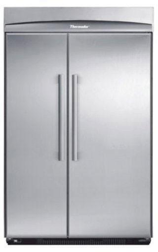 48 Inch Built In Refrigerator >> Thermador KBUIT48 48 Inch Built-in Side by Side Refrigerator with Adjustable Frameless Glass ...