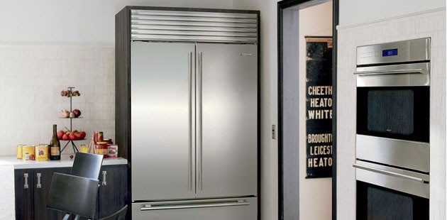 Sub-Zero BI42UFD 42 Inch Built-in French Door Refrigerator ...