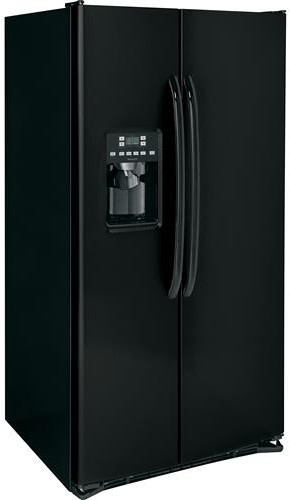 Hotpoint Hss25athbb 25 4 Cu Ft Side By Side Refrigerator