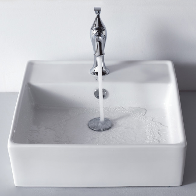 Kraus Ckcv15015001ch 18 3 5 Inch Square Ceramic Sink With