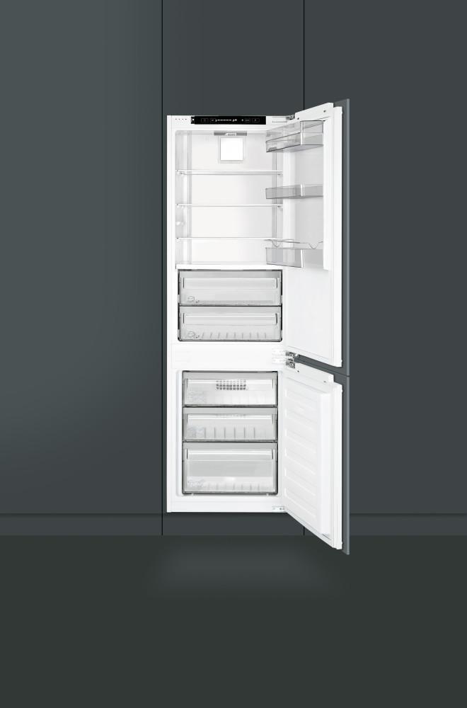 Smeg Cb300u 22 Inch Built In Bottom Freezer Refrigerator