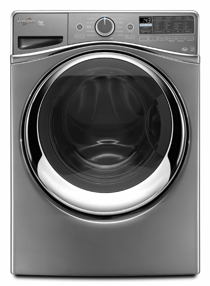 whirlpool wfw97hedc 27 inch 4 5 cu ft front load washer with 12 wash cycles 1 400 rpm steam. Black Bedroom Furniture Sets. Home Design Ideas