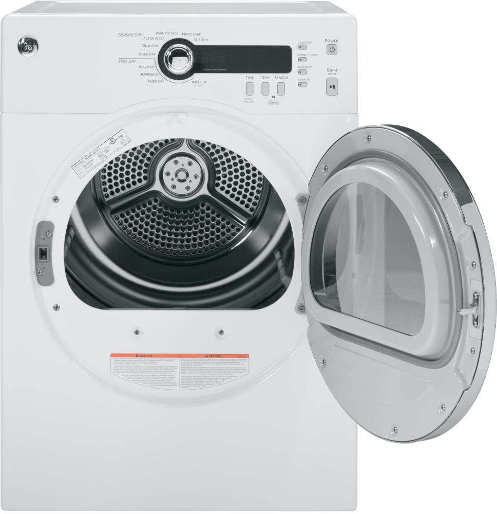 Ge Dcvh480ekww 24 Inch 4 0 Cu Ft Electric Dryer With 20