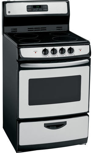 Ge Ja624rnss 24 Inch Freestanding Electric Range With 4