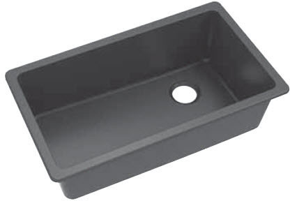 Elkay Elgu13322wh 33 Inch Undermount Sink With 9 1 2 Inch