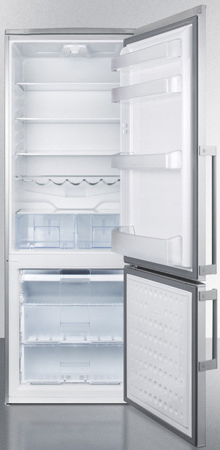 Summit Ffbf285ssx 28 Inch Counter Depth Bottom Freezer
