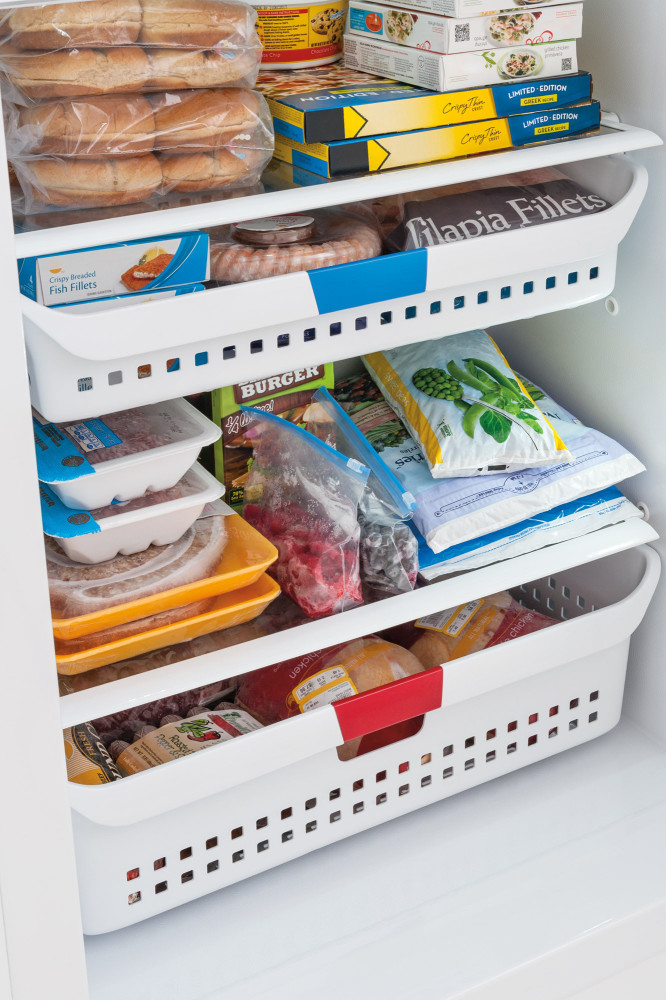 Frigidaire Fffh21f6qw 20 5 Cu Ft Upright Freezer With