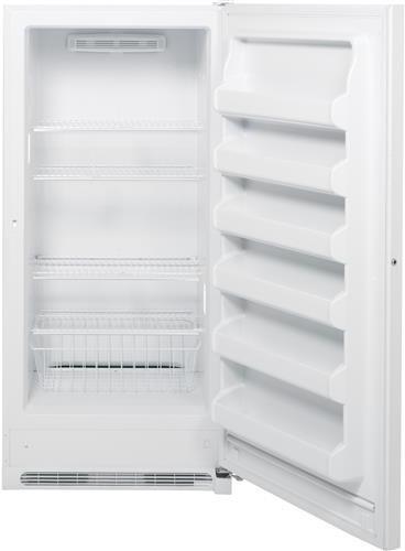 Ge Fuf20dhrww 20 2 Cu Ft Upright Freezer With 4 Wire