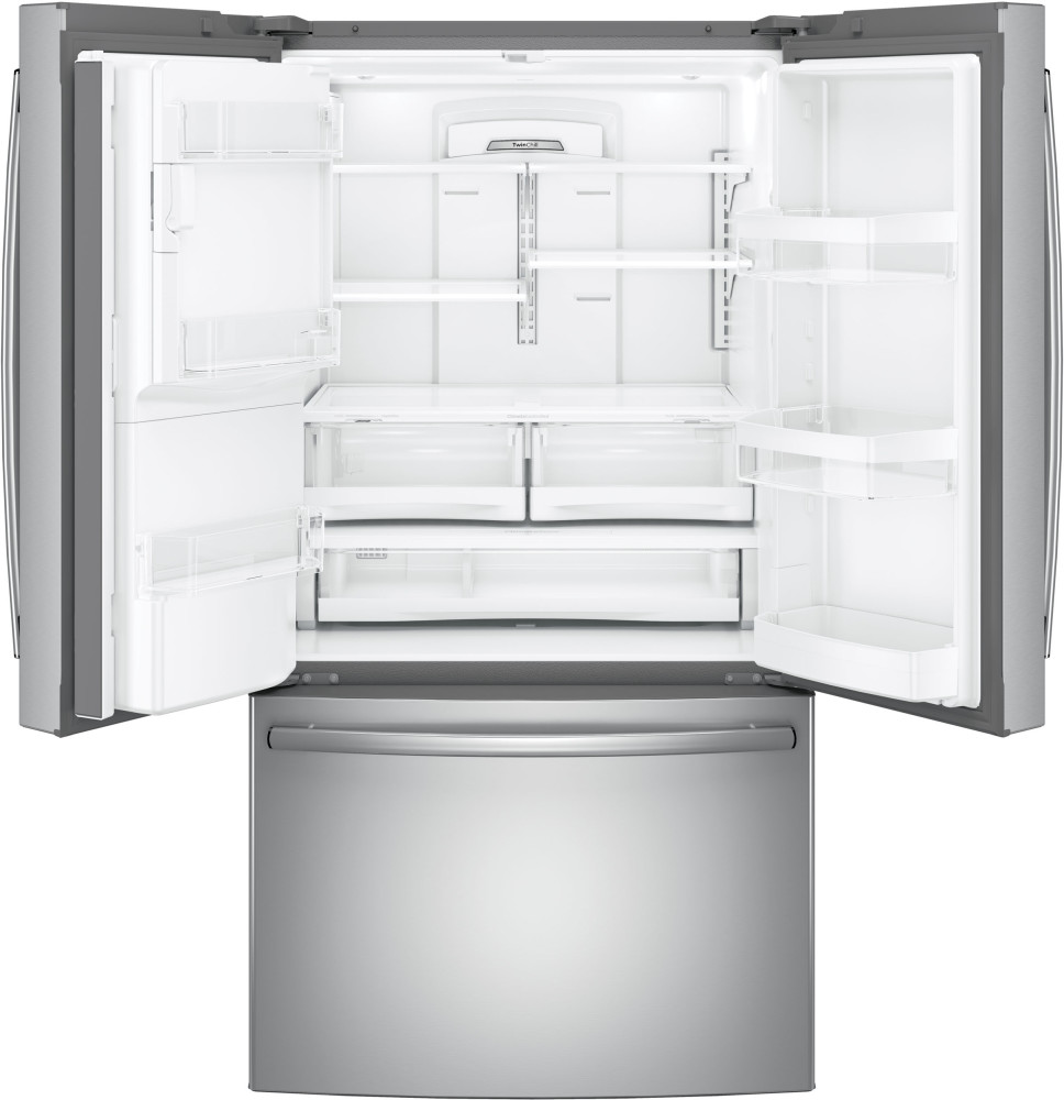 Ge Gfe26gskss 36 Inch French Door Refrigerator With 25 8
