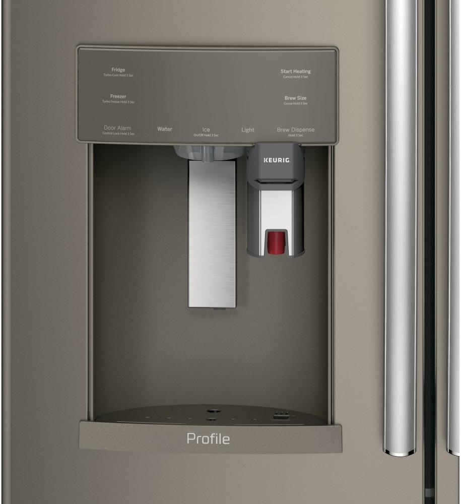 ge pye22pmkes 36 inch counter depth french door. Black Bedroom Furniture Sets. Home Design Ideas