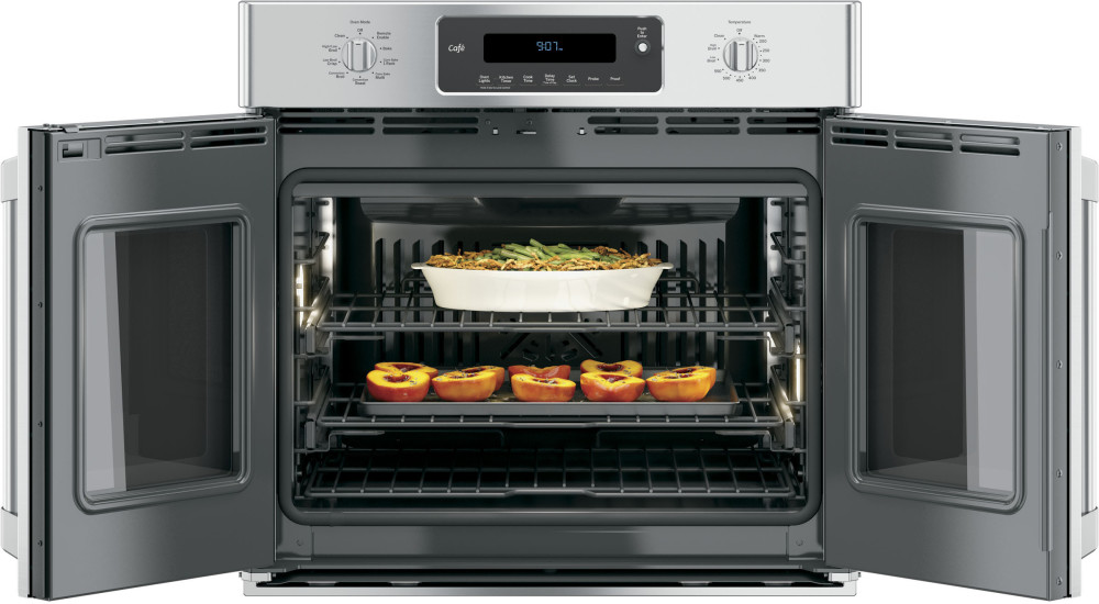 French Door Oven ~ Ge ct shss inch single french door electric wall