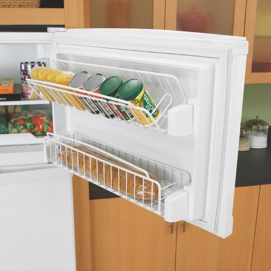 Whirlpool Gr2shwxpq 21 7 Freestanding Top Freezer Refrigerator With External Ez Touch