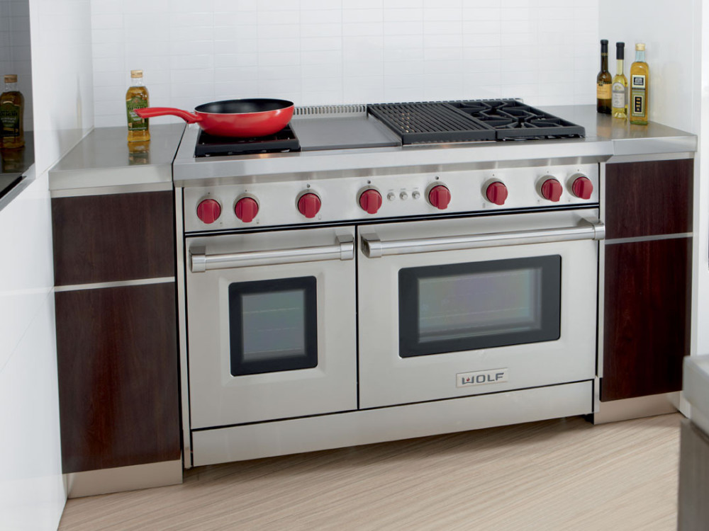 Wolf Gr484cgx 48 Inch Pro Style Gas Range With 4 Dual