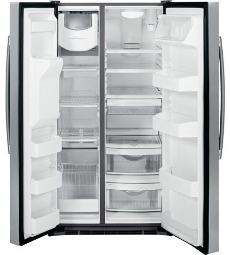 Ge Gse25gshss 36 Inch Side By Side Refrigerator With 25 4