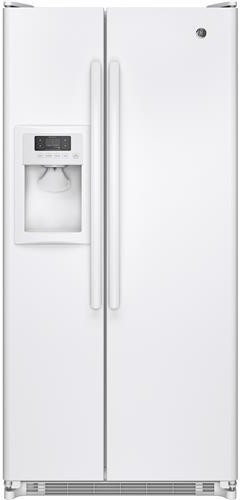 Ge Gss20ethww 32 Inch Side By Side Refrigerator With 20 0