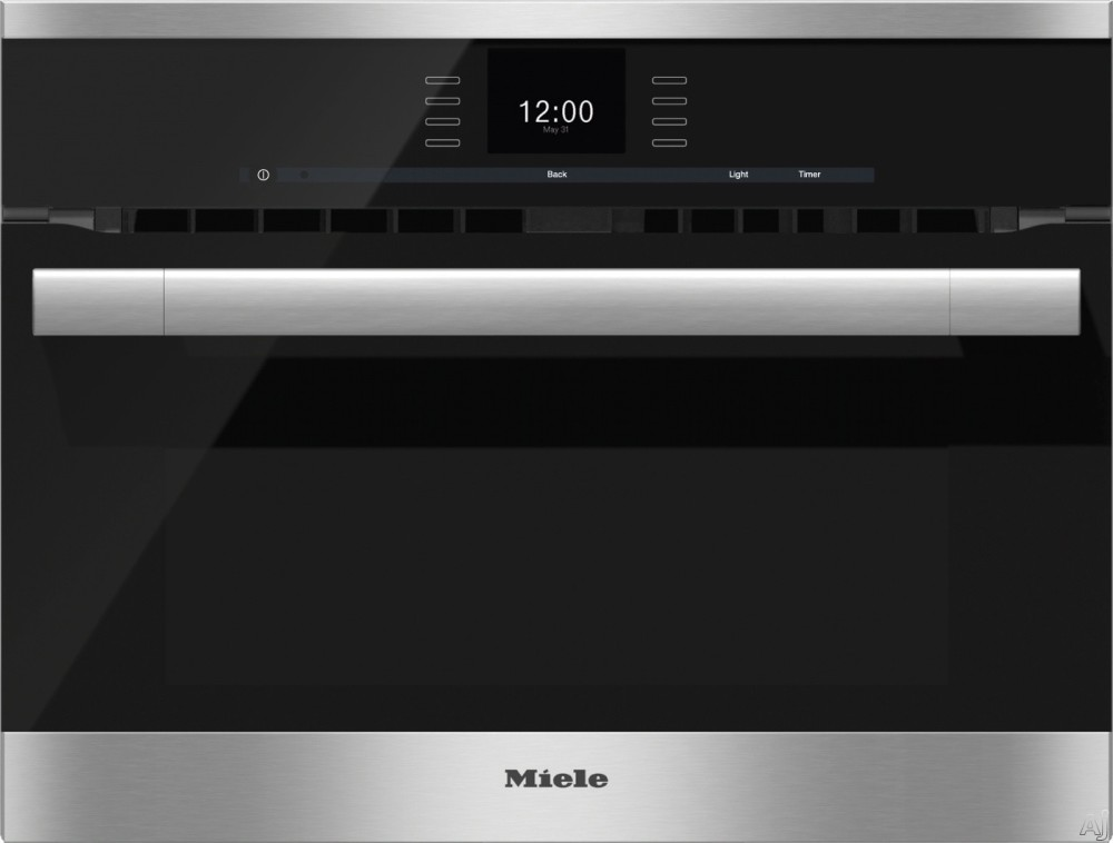 Miele H6500bm 24 Inch Single Electric Speed Oven With
