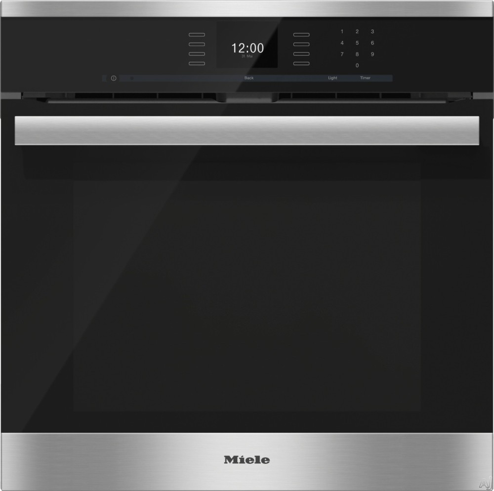 Miele H6660bpx 24 Inch Single Electric Wall Oven With