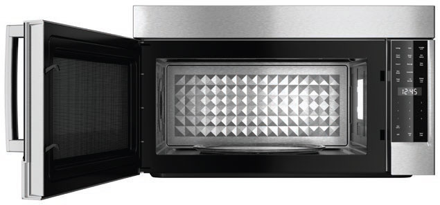 Bosch Hmv8052u Over The Range Microwave Oven With 1 8 Cu Ft Capacity 1 500 Convection Watts