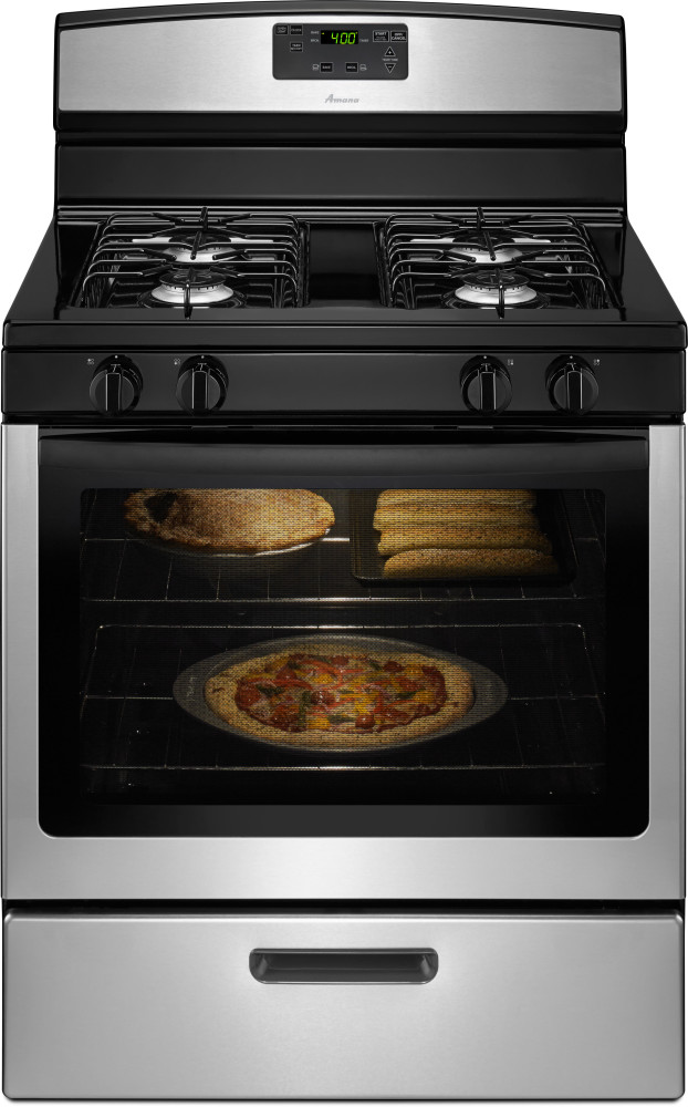 Amana Agr5330bas 30 Inch Freestanding Gas Range With 4