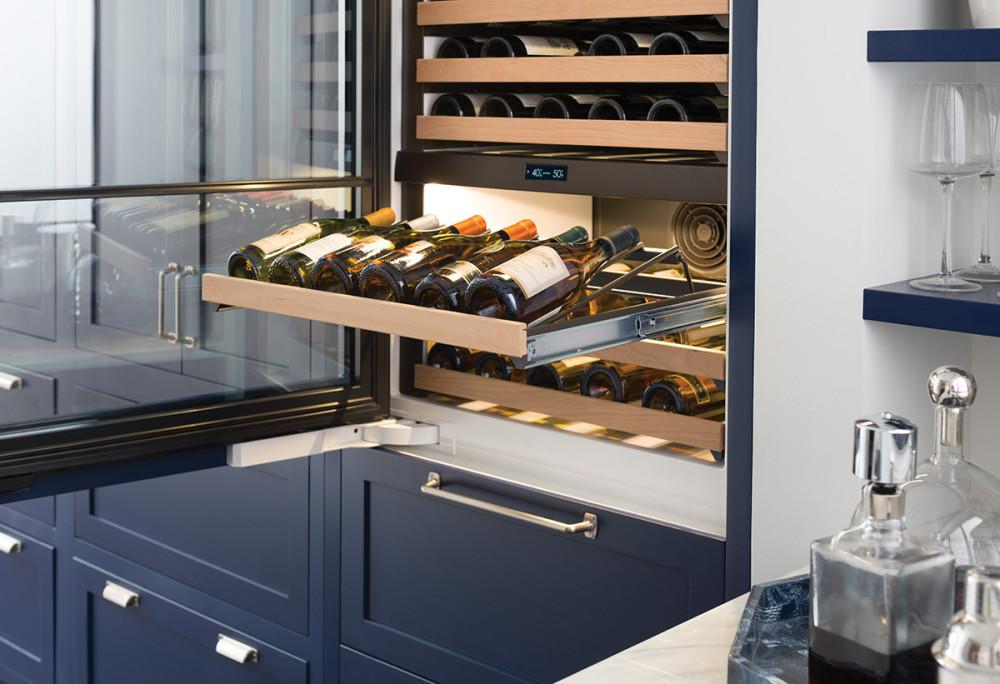 Sub Zero Iw30rlh 30 Inch Wine Storage With 86 Bottle