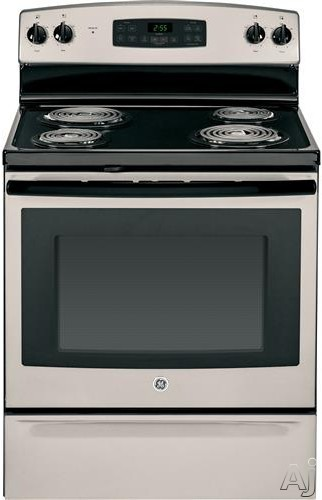Ge Jb255gjsa 30 Inch Freestanding Electric Range With 4