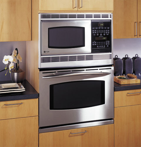 Ge Jt965skss 30 Inch Combination Microwave Double Wall