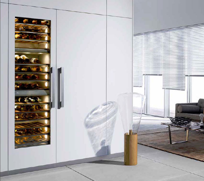 Miele Kwt1613vi 24 Inch Built In Wine System With 102