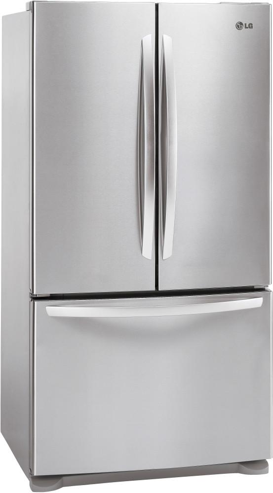 Lg lfc21776st 36 inch counter depth french door for Split french doors