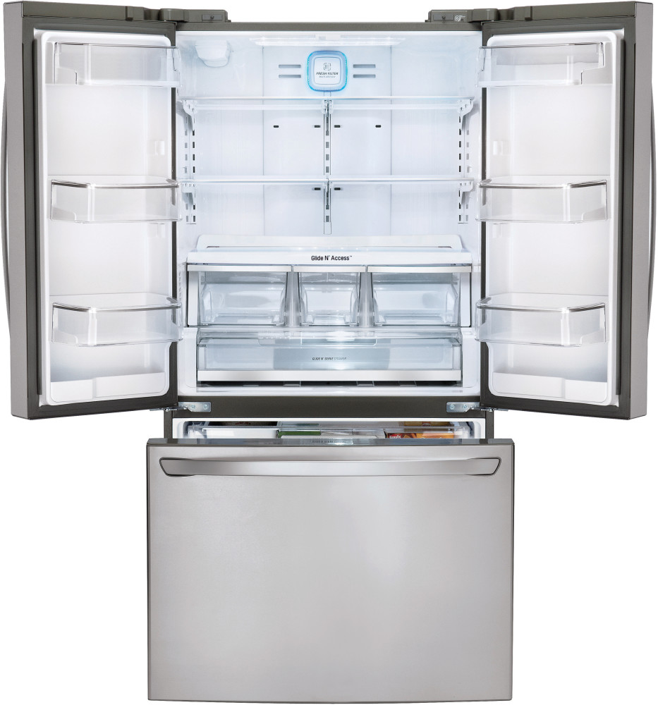 Lg Lfcs31626s 36 Inch French Door Refrigerator With 31 3