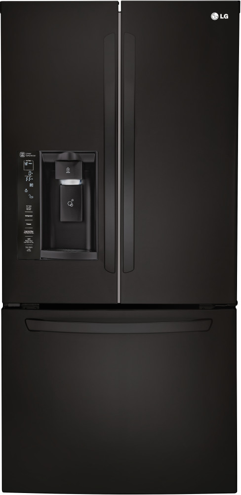 Lg Lfxs24623 33 Inch French Door Refrigerator With 24 0 Cu