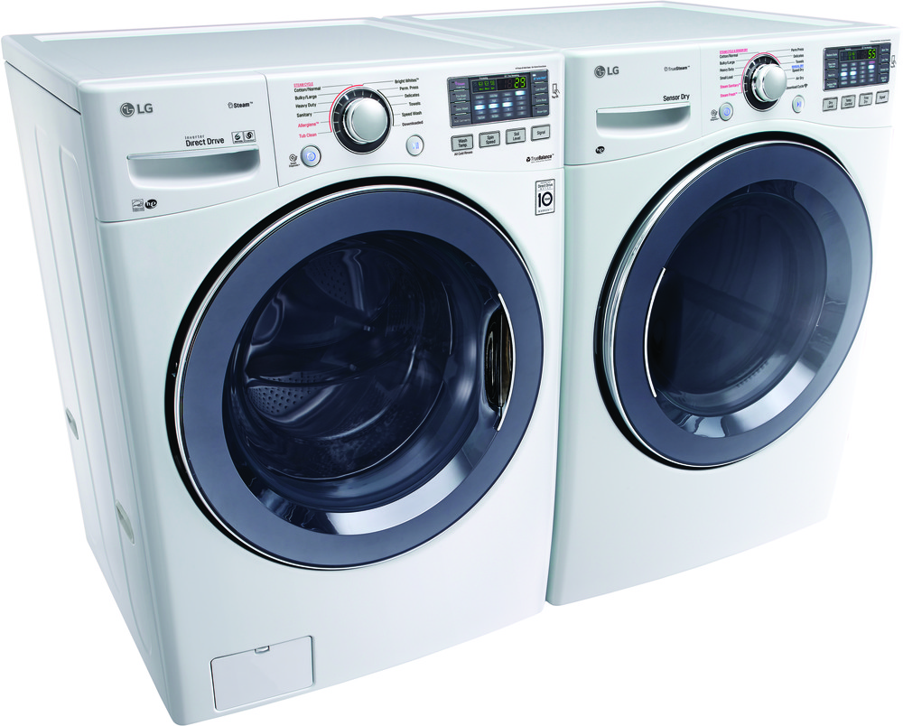 Lg Wm3770hwa 27 Inch Front Load Washer With 4 5 Cu Ft