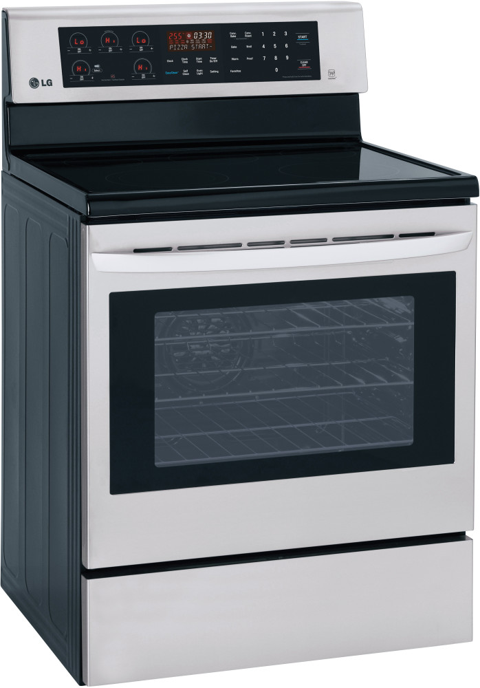 Mail In Rebate Offers >> LG LRE3083ST 30 Inch Freestanding Electric Range with 5 ...