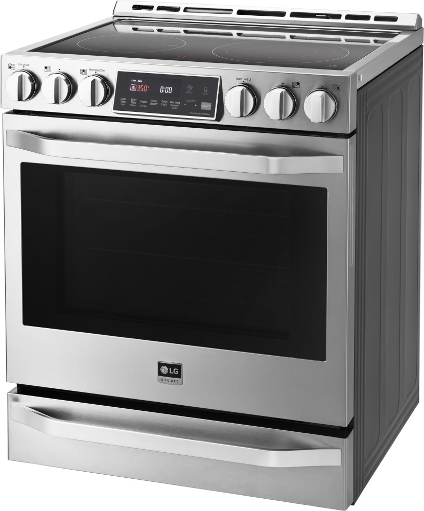Lg Lsse3026st 30 Inch Slide In Electric Range With 5