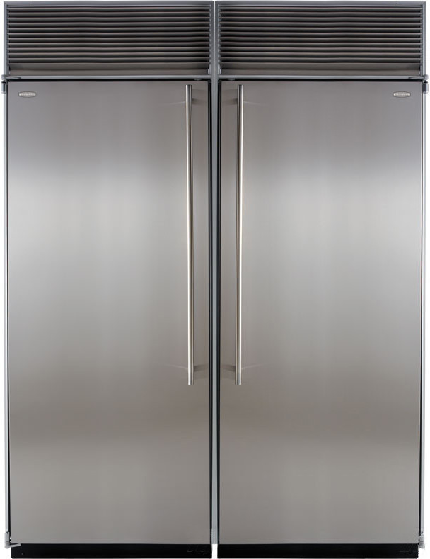 Marvel M60cfrws 60 Inch Built In Side By Side Refrigerator