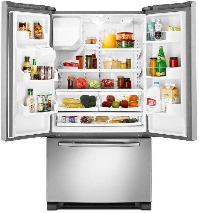 Maytag Mfi2665xem 25 5 Cu Ft French Door Refrigerator