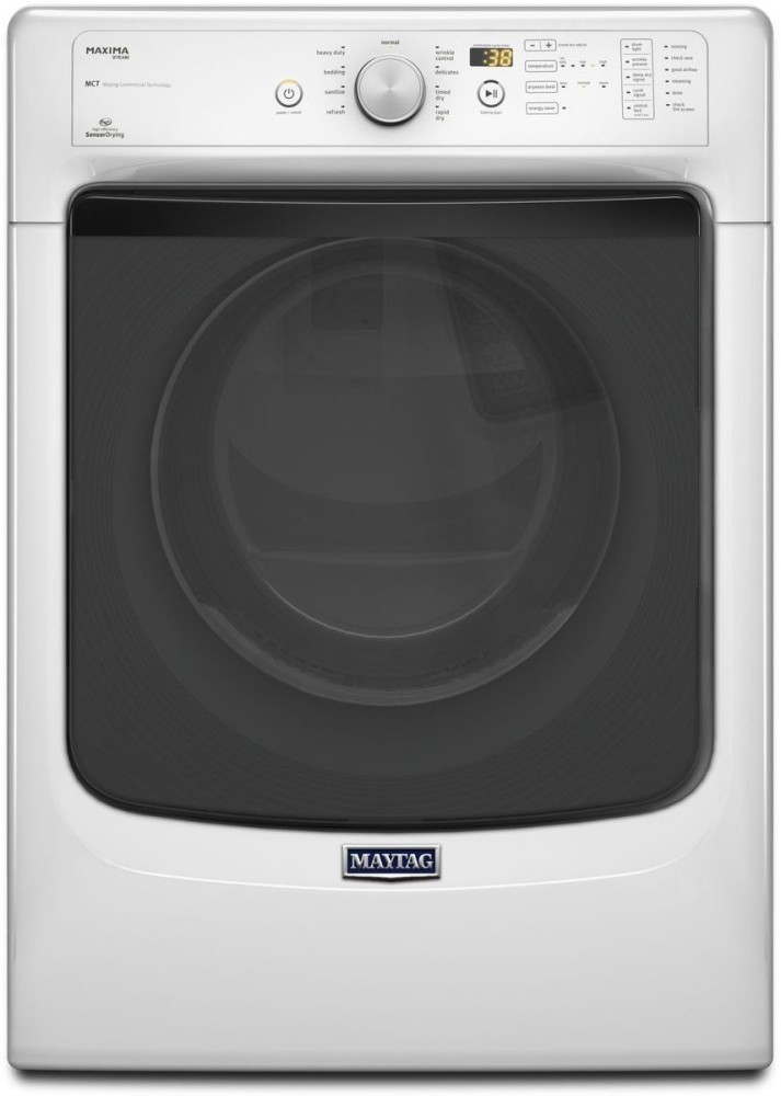Maytag Med5100dw 27 Inch 7 4 Cu Ft Electric Dryer With 9