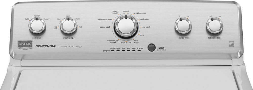 Maytag Mvwc425bw 27 Inch Top Load Washer With 3 8 Cu Ft