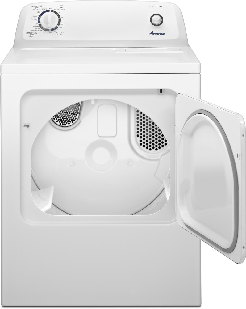 Amana NED4655EW 29 Inch 6.5 cu. ft. Electric Dryer with 11