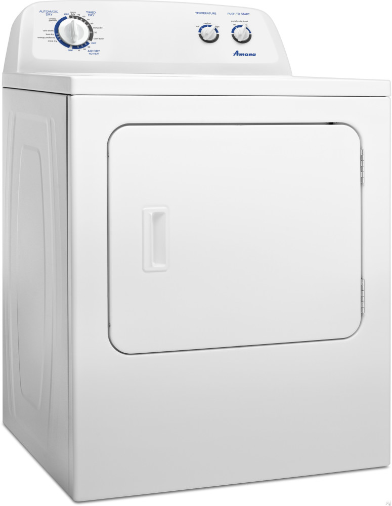 Amana Ned4705ew 29 Inch 7 0 Cu Ft Front Load Electric