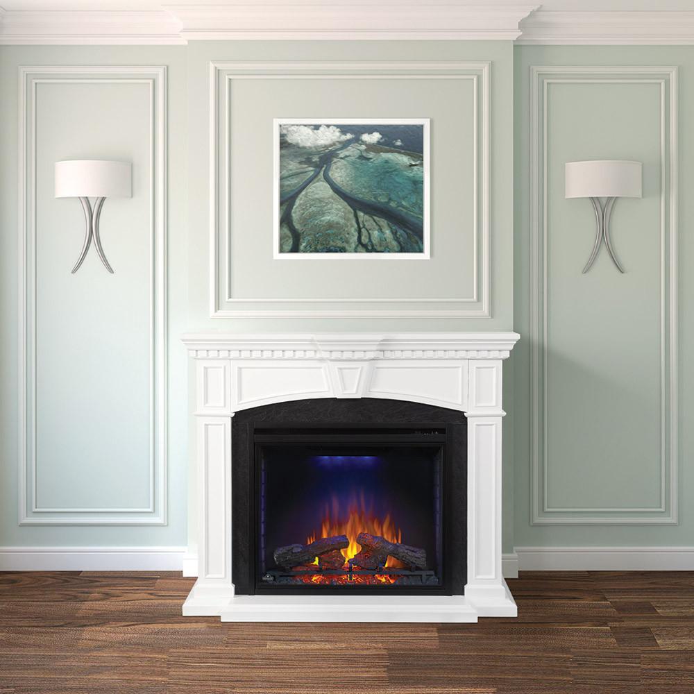 Diy Fireplace Surround Electric