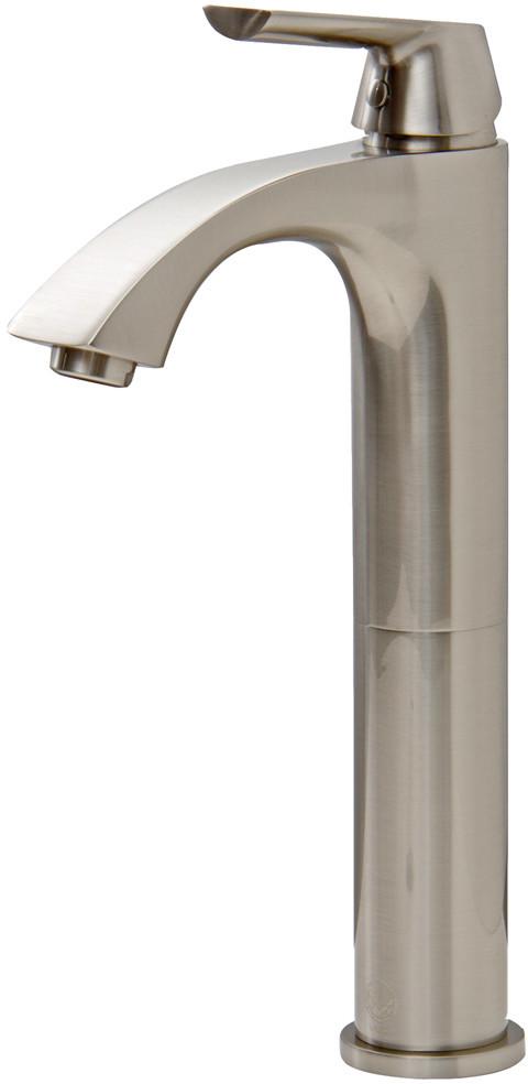 Vigo Industries Vg03013bn Single Lever Cast Spout Bathroom Sink Faucet With 5 1 8 Inch Reach