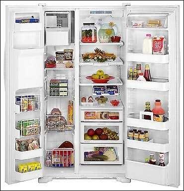 Maytag Msd2756geb 27 Cu Ft Side By Side Refrigerator W