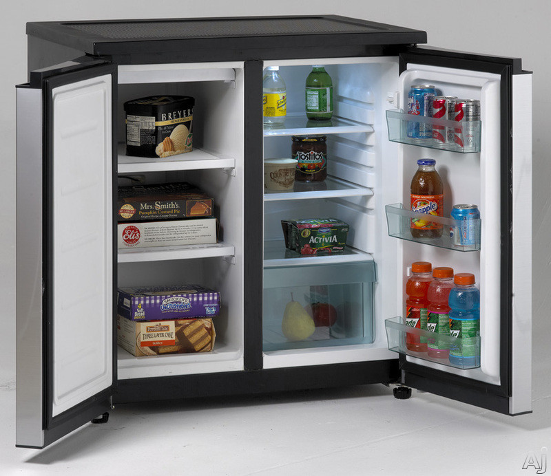Avanti Rms551ss 5 5 Cu Ft Side By Side Refrigerator With